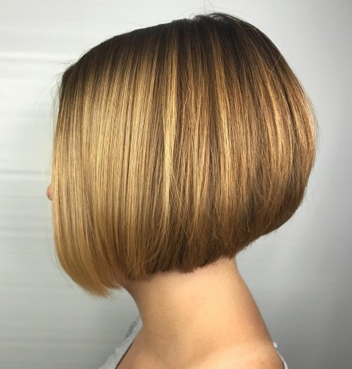 Short A-Line Bob Haircut