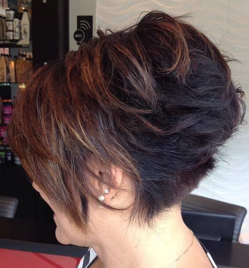 Stacked bob haircut instagram