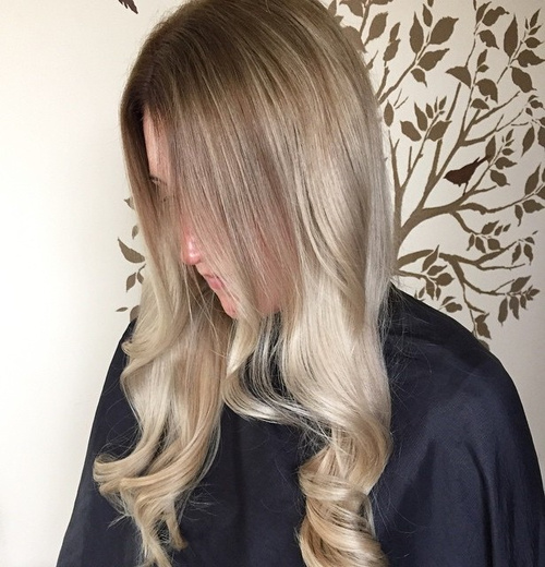 Marvelous 40 Glamorous Ash Blonde And Silver Ombre Hairstyles Hairstyles For Women Draintrainus