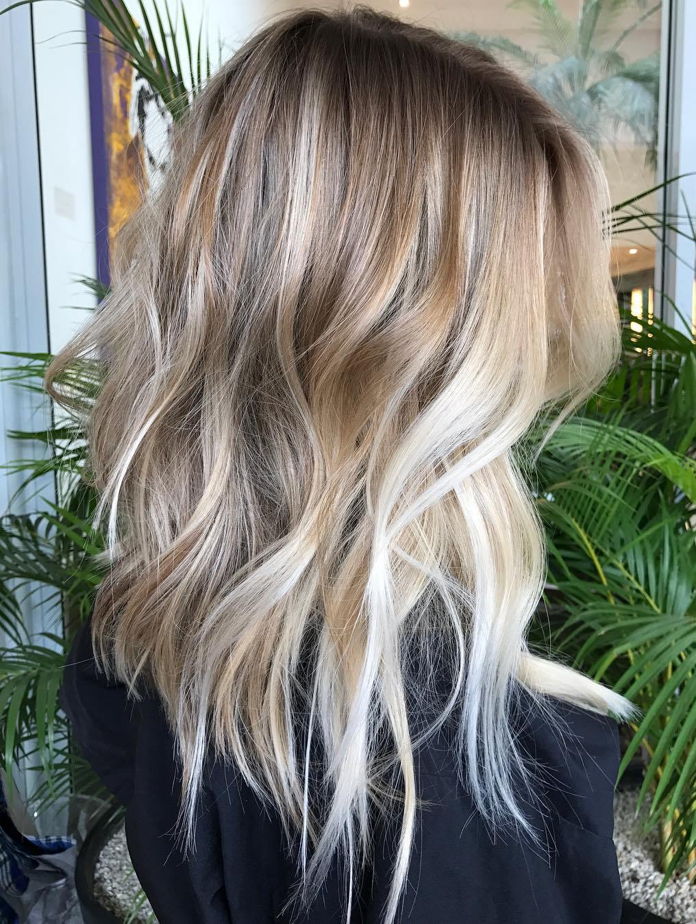 70 Balayage Hair Color Ideas with Blonde, Brown and Caramel
