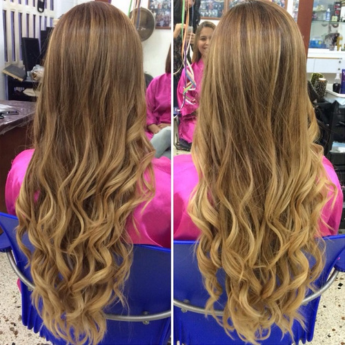 waist length hair styles 20 sweet and stylish soft ombre hairstyles 6184