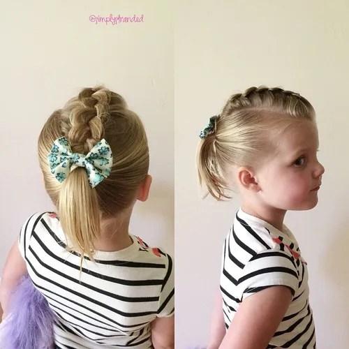 Admirable 20 Super Sweet Baby Girl Hairstyles Hairstyles For Men Maxibearus