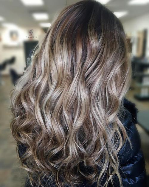 40 beautiful blonde balayage looks light brown and blonde highlights urmus Choice Image