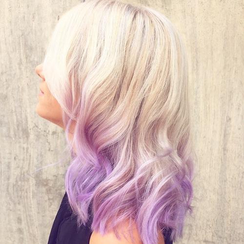 Purple Ombre Hair Ideas: Plum, Lilac, Lavender and Violet ...  Purple Ombre Ha...