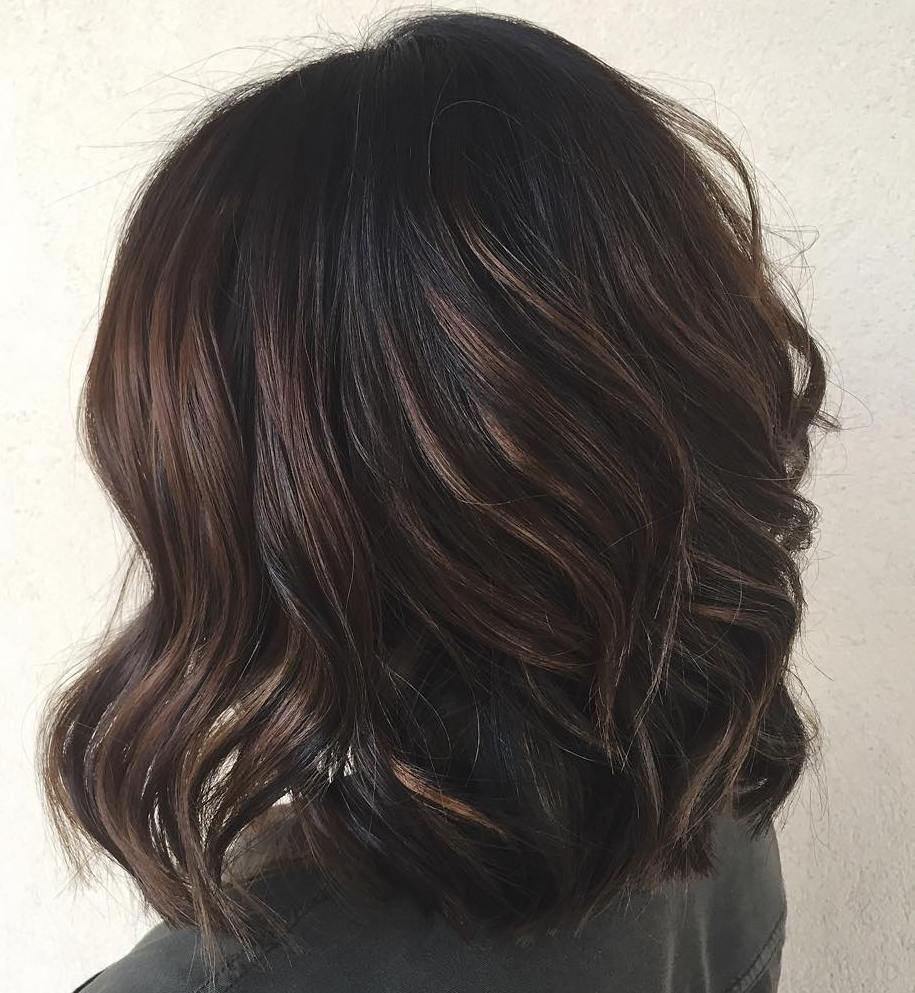 Best Balayage Hair Color Ideas with Blonde, Brown and Caramel Highlights