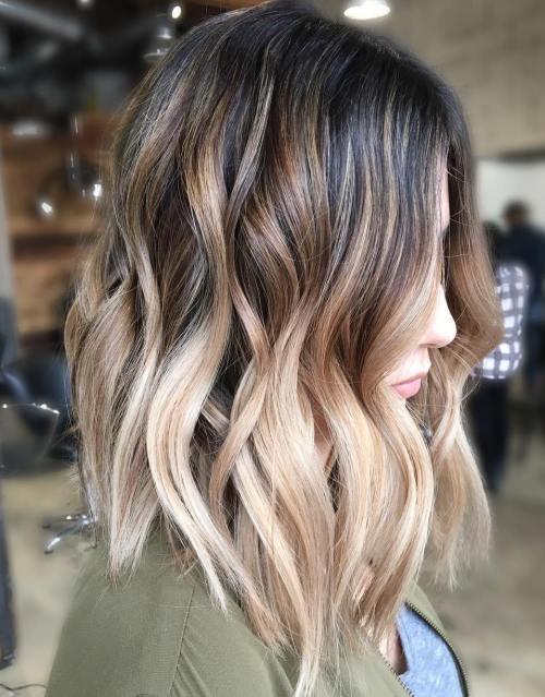90 balayage hair color ideas with blonde brown and caramel highlights dark brown to creamy blonde ombre urmus Image collections