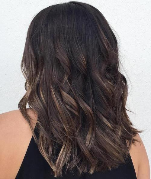 90 balayage hair color ideas with blonde brown and caramel highlights babylights for black hair urmus Gallery