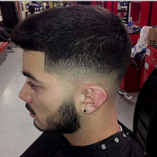 classic taper fade haircut for men