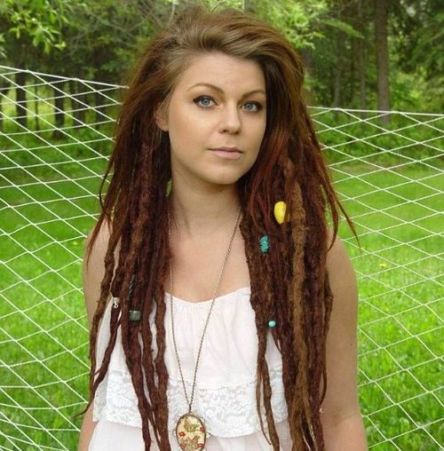 outgrown dreadlocks