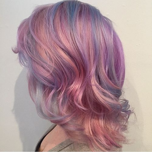 40 pink hair ideas unboring pink hairstyles to try in 2017 pastel pink hair with blue highlights pmusecretfo Images
