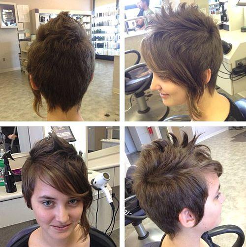 sassy pixie haircut