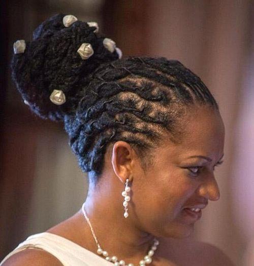 Swell 20 Daring And Creative Hairstyles With Dreadlocks For Women Short Hairstyles Gunalazisus