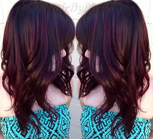 cherry coke hair color
