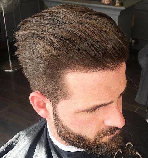 Taper Hairstyles comb over fade haircut 2017 Taper Haircut