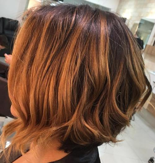 40 on trend balayage short hair looks - Couleur caramel cheveux ...