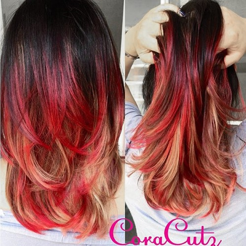 Red hair color inspiration red highlights pmusecretfo Image collections