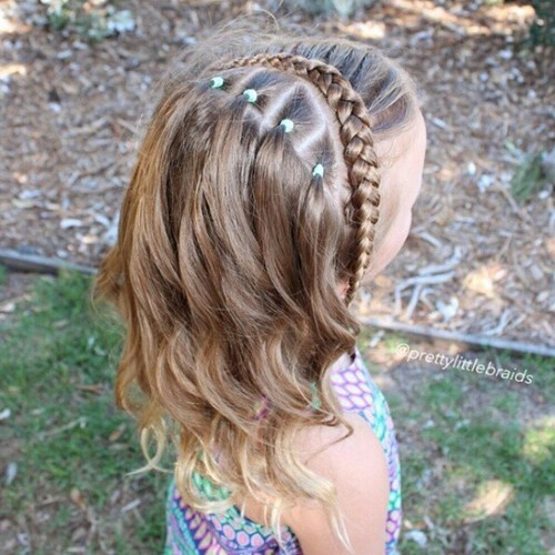 back to school hairstyle for medium hair