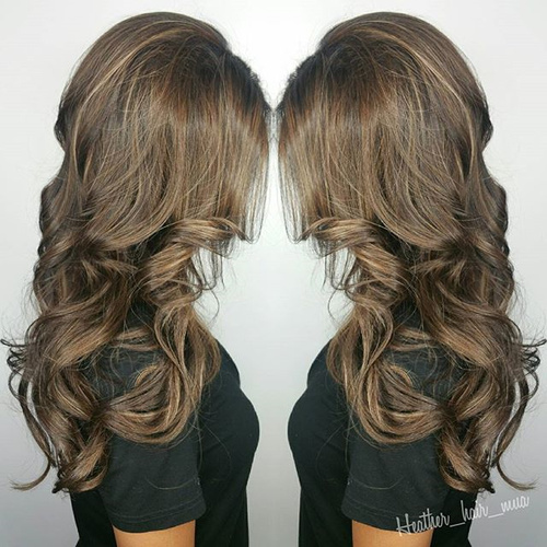 20 cute fall hair colors and highlights ideas ash brown hair color pmusecretfo Choice Image
