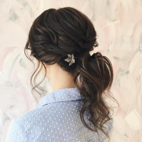 Formal Curly Pony Hairstyle