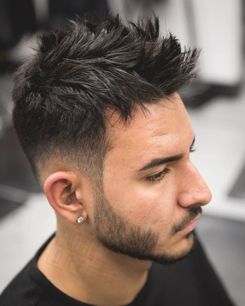 Layered Faux Hawk