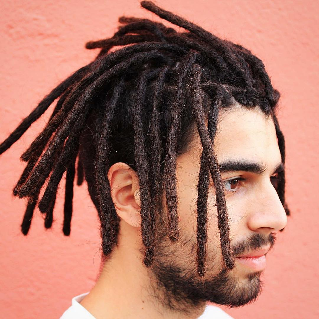 Menu0027s Undercut With Dreadlocks
