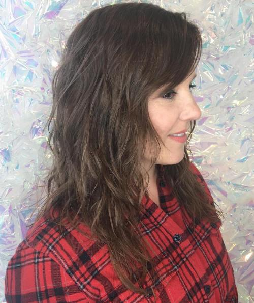 Very Loose Perm For Layered Hair