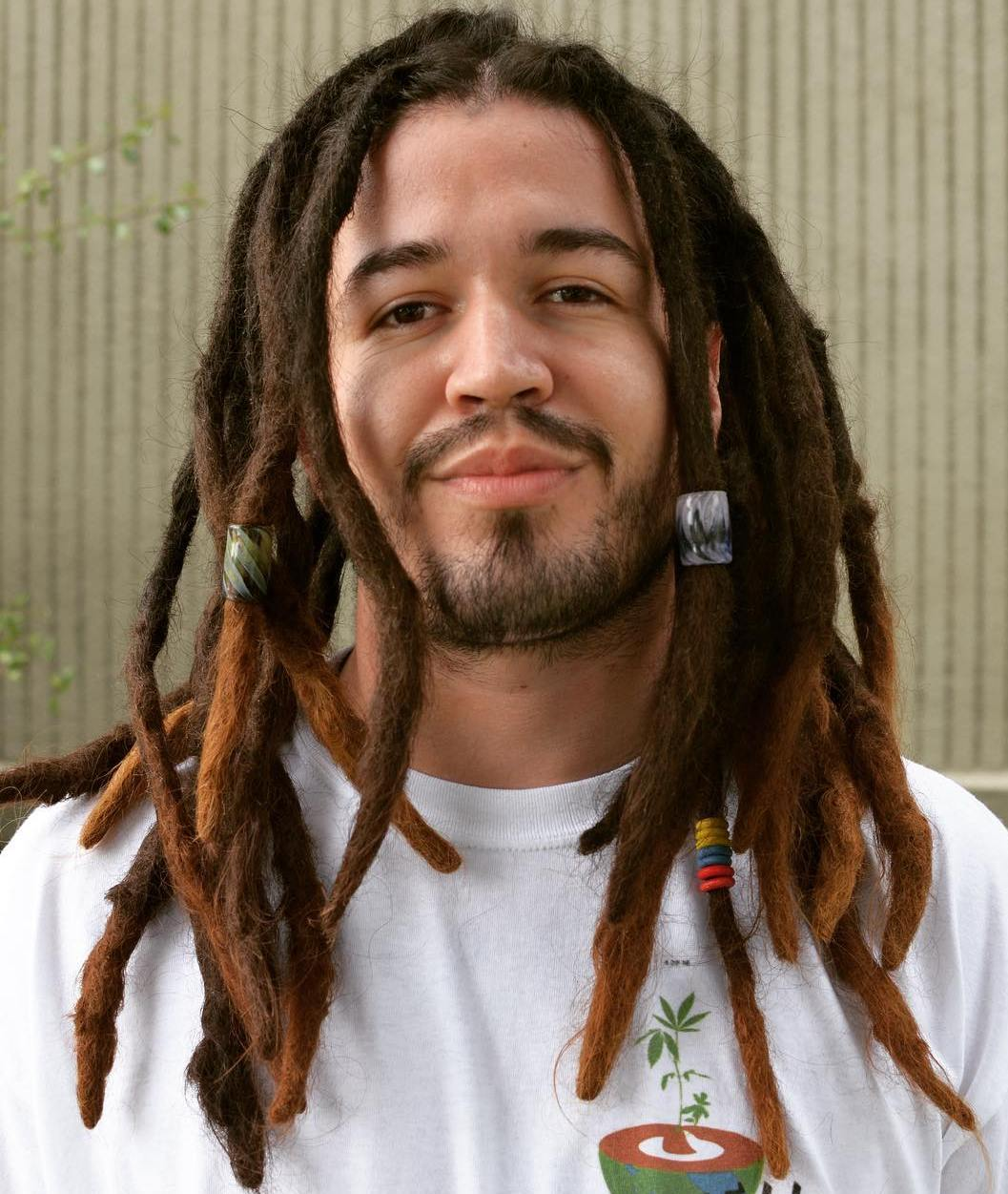 Brown Ombre Dreads For Men