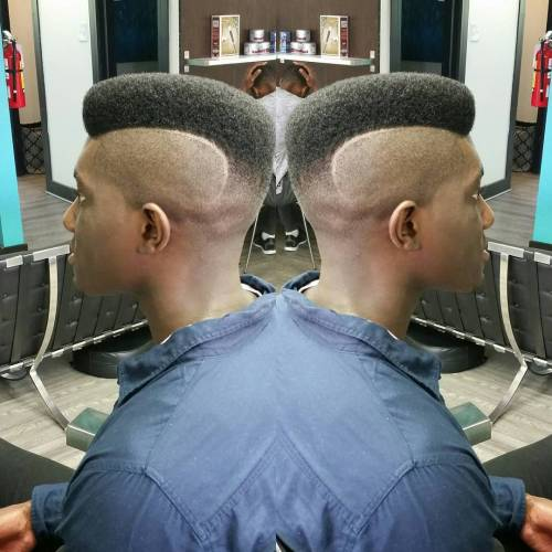 High Top Fade Faux Hawk