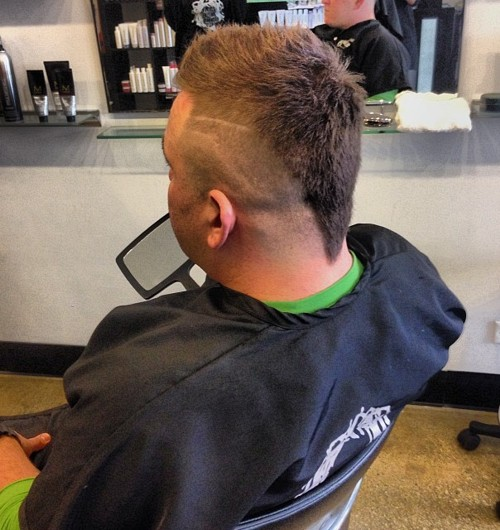 The 40 hottest faux hawk haircuts for men mens funky mohawk urmus Image collections