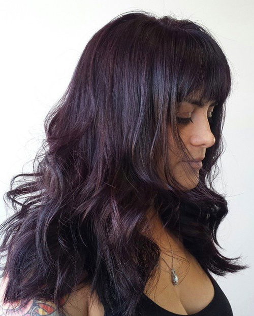 violet undertones hair color best hair color 2017