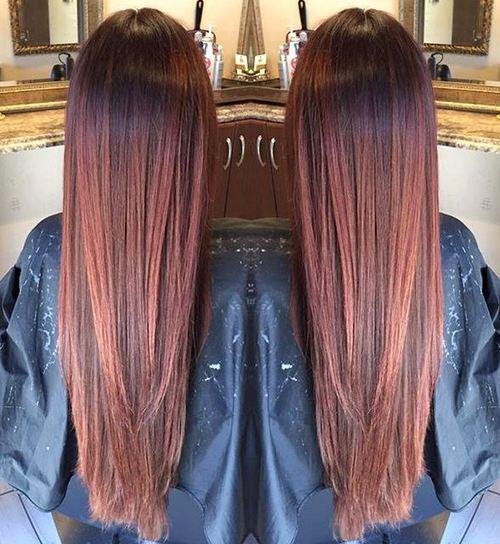 Cool 50 Glamorous Auburn Hair Color Ideas Short Hairstyles For Black Women Fulllsitofus