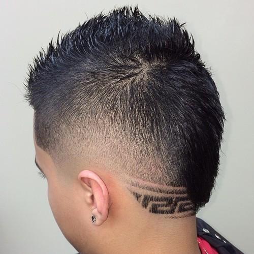 Astounding The 40 Hottest Faux Hawk Haircuts For Men Short Hairstyles Gunalazisus