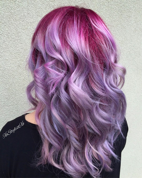 the prettiest pastel purple hair ideas