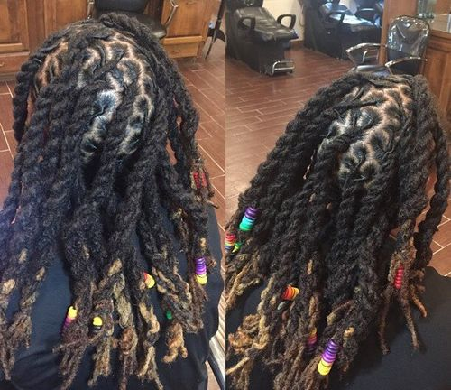 chunky kinky twists