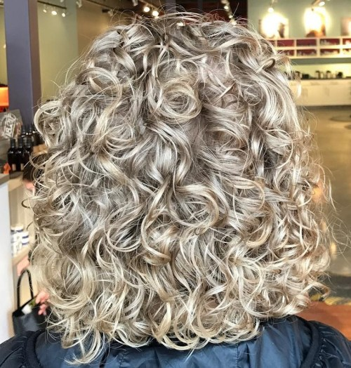 Curly Perm For Thick Hair
