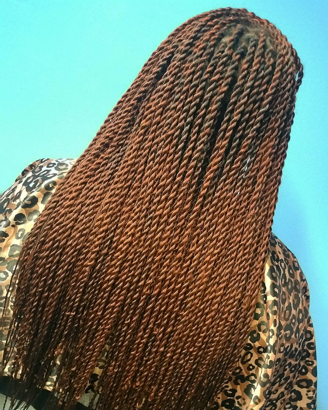 Light Brown Senegalese Twists