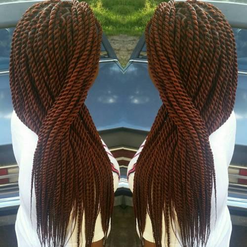 Long Auburn Ropes