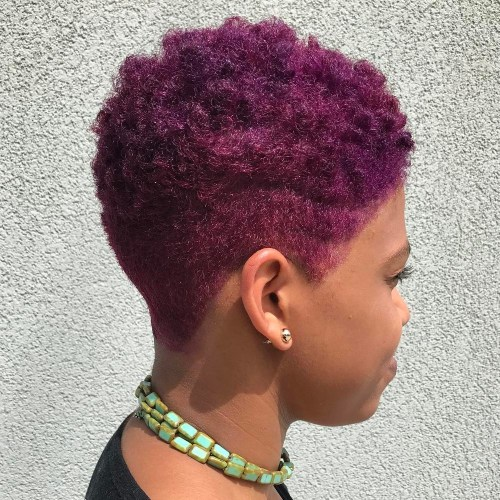 Purple Tapered Twa