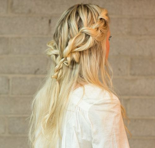 20 Trendy Half Braided Hairstyles