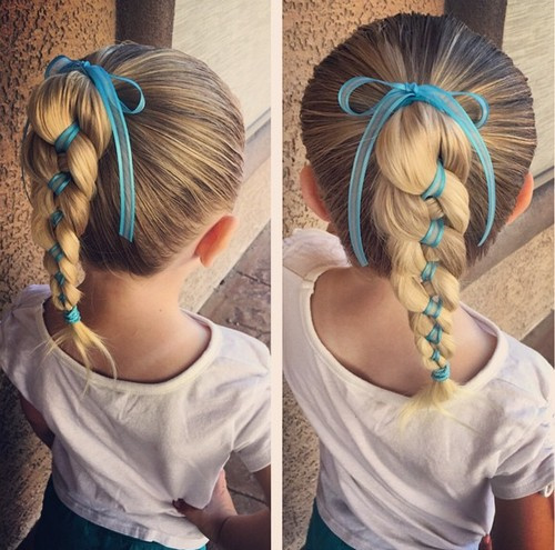 Stupendous 20 Adorable Toddler Girl Hairstyles Hairstyles For Women Draintrainus