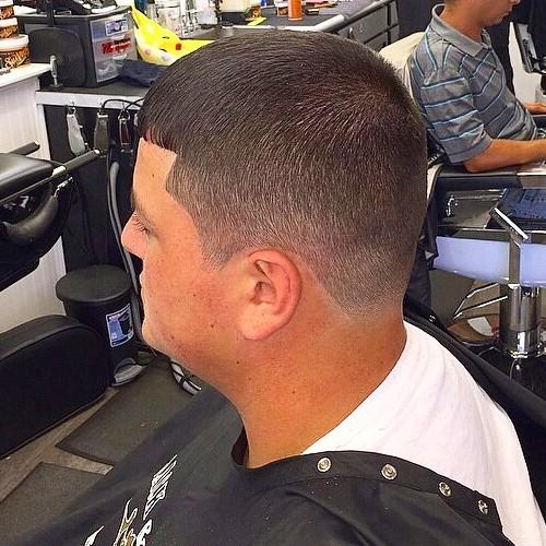 Caesar Haircut for thin hair