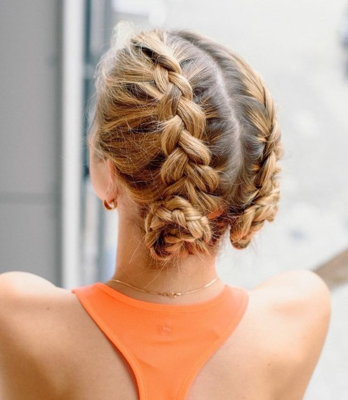 40 Best Sporty Hairstyles for Workout – The Right Hairstyles