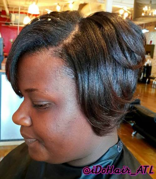 Groovy Sew Hot 30 Gorgeous Sew In Hairstyles Short Hairstyles For Black Women Fulllsitofus
