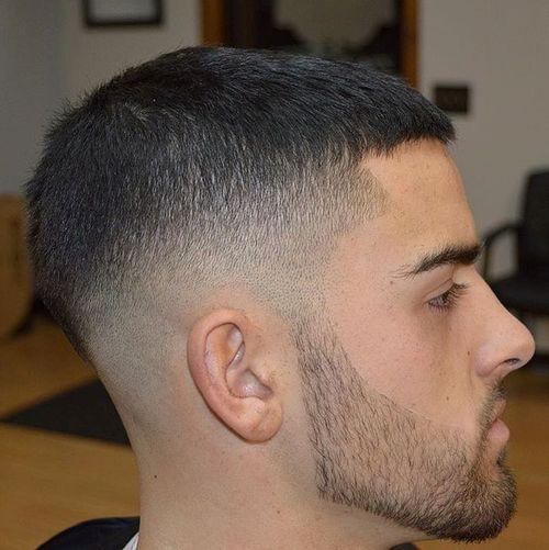 fade and Caesar Haircut