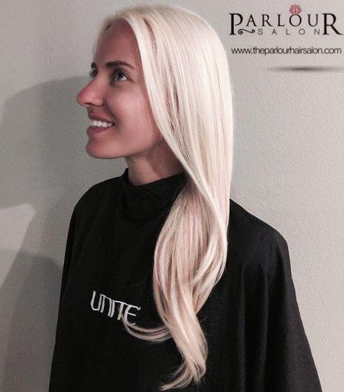 Astonishing 40 Hair Solor Ideas With White And Platinum Blonde Hair Short Hairstyles Gunalazisus