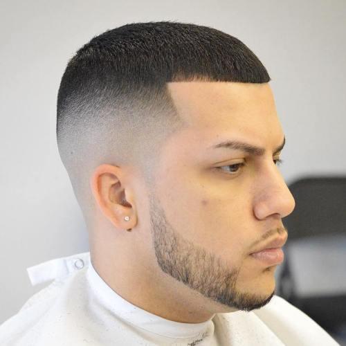 neat and short Caesar Haircut