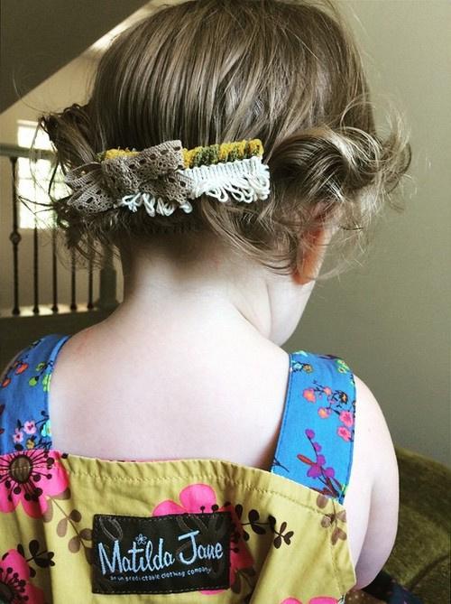 Toddler Hairstyles Short Hair : 20 adorable toddler girl hairstyles