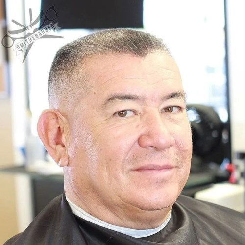 Fade Haircut For Older Men