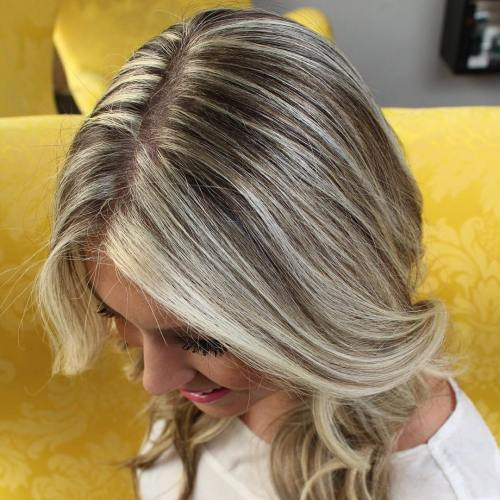 how to go white blonde at home