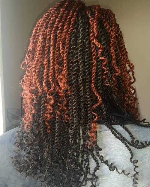 twists kinky essayer coiffures